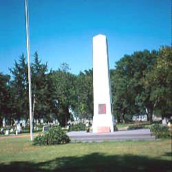 Kansas Civil War Monuments Finney County